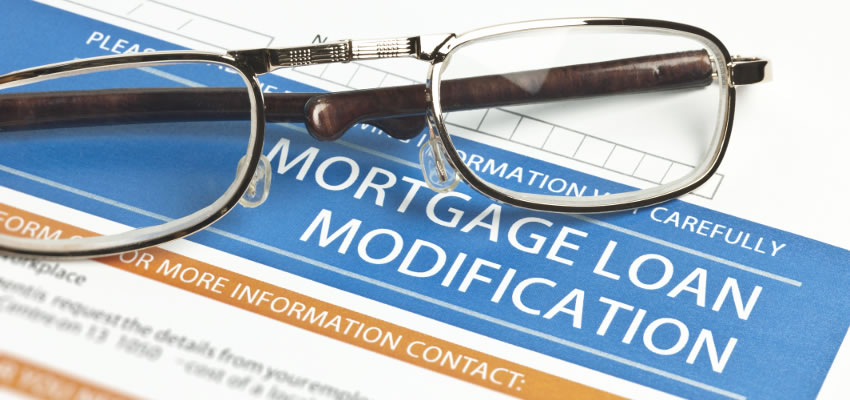 Load modification form to stop foreclosure process